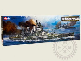 British Battleship Prince of Wales / 1:350