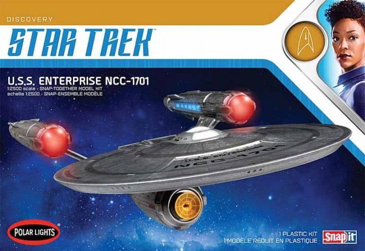AMT Star Trek Discovery USS Enterprise, Snap-Kit / 1:2500
