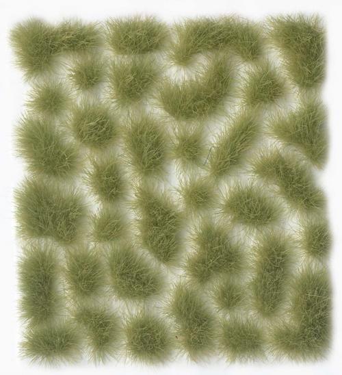 Vallejo Scenery: Wild Tuft - Light Green - 6mm