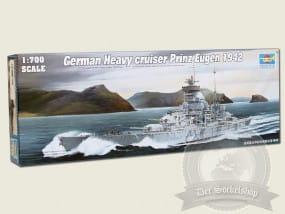 German Cruiser Prinz Eugen 1942 / 1:700