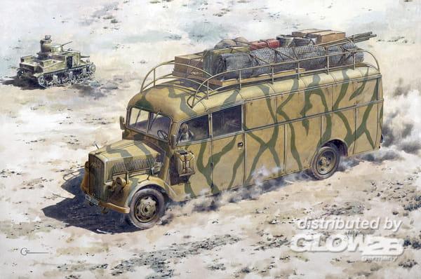 1 Stück 1//72 Deutsch Kfz.305 Opel Blitz Lkw Plastik Armee Fahrzeug Modell
