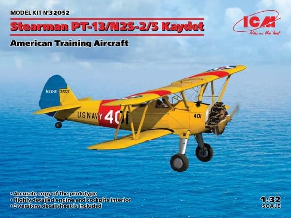 Stearman PT-13/N2S-2/5 Kaydet, American Training Aircraft / 1:32