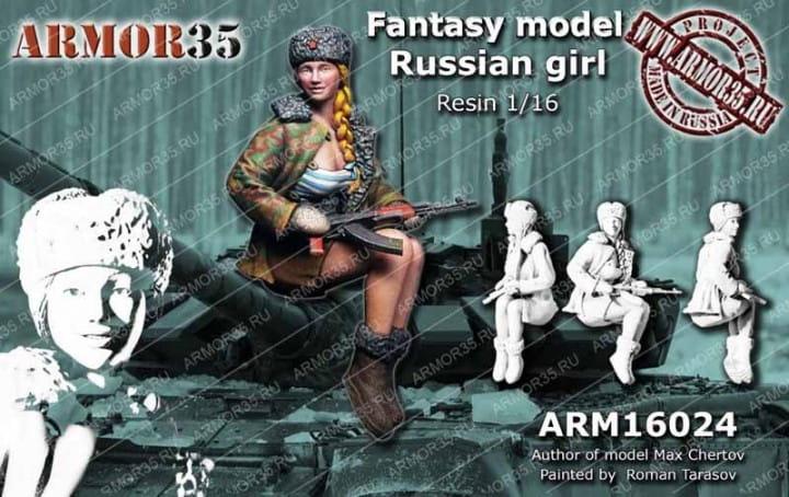 Armor35 Russian Girl / 1:16