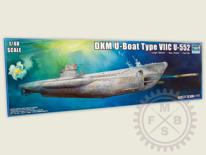 Trumpeter German Type VIIC U-Boat U-552 / 1:48