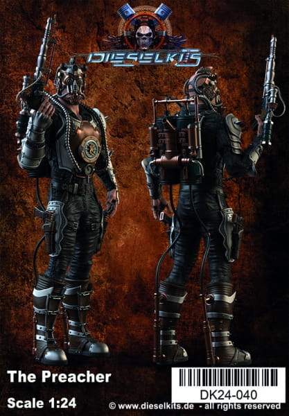 The Preacher -Steampunk Character- / 1:24