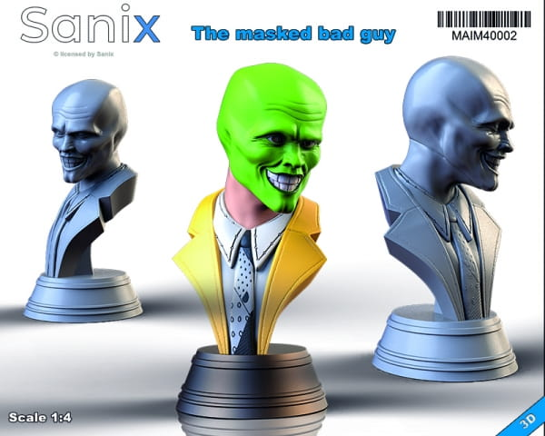 The masked bad guy -Bust / Statue- / 1:4