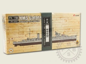 Light Cruiser HMS Galatea -Full Hull- / 1:700