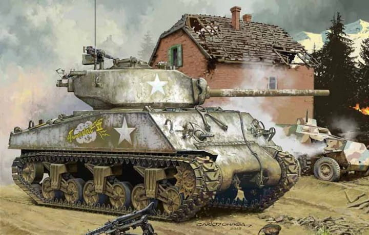 U.S.Medium Tank M4A3 (76) W / 1:35