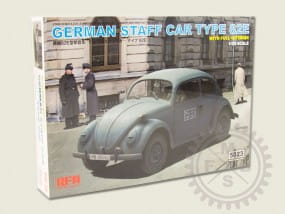 German Staff Car Type 82E / 1:35