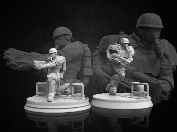 Volk Troopers - Diesel Troopers #3