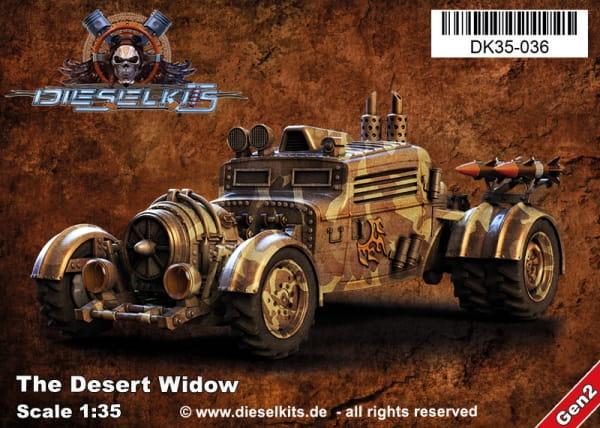 The Widow - Desert Rats / 1:35