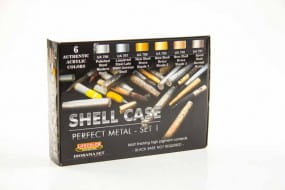 shell case perfect metal - set 1 - Color Set / 6x22ml