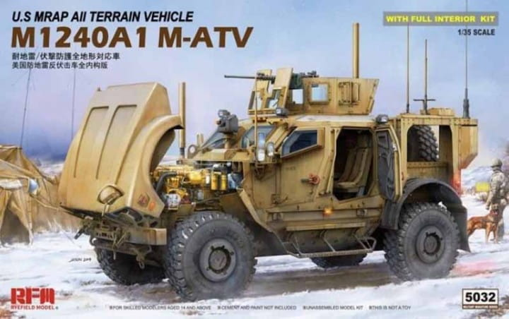 Rye Field Model U.S. MRAP M1240A1 M-ATV / 1:35