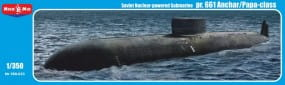 Project 661 Anchar/Papa-class Soviet nuclear-powered submarine / 1:350