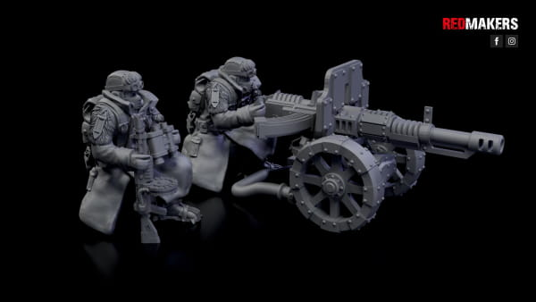 Autocanon - Ice Warriors - Heavy Support Squad of the Imperial Forces