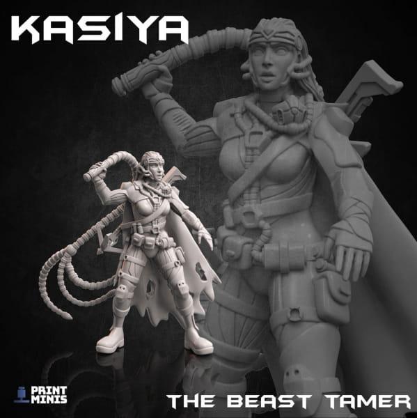 Kasiya - Beast Tamer - Dieselpunk Desert Collection