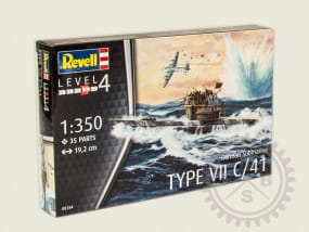 German Submarine Type VII C/41 / 1:350